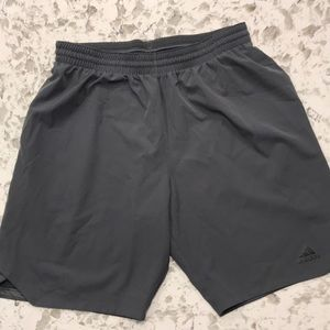 Adidas climalite men's athletic shorts. L